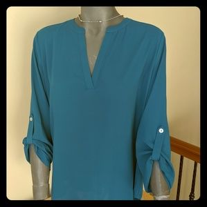 3/4 sleeve Everleigh Jade blouse size S